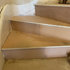 Stairs Undergone our Repairs