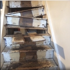 StairCase Before Repair