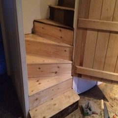 Staircase Undergone our Repairs